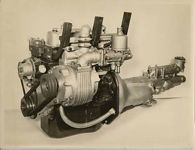 Shorrock Supercharged BMC A-Series Engine